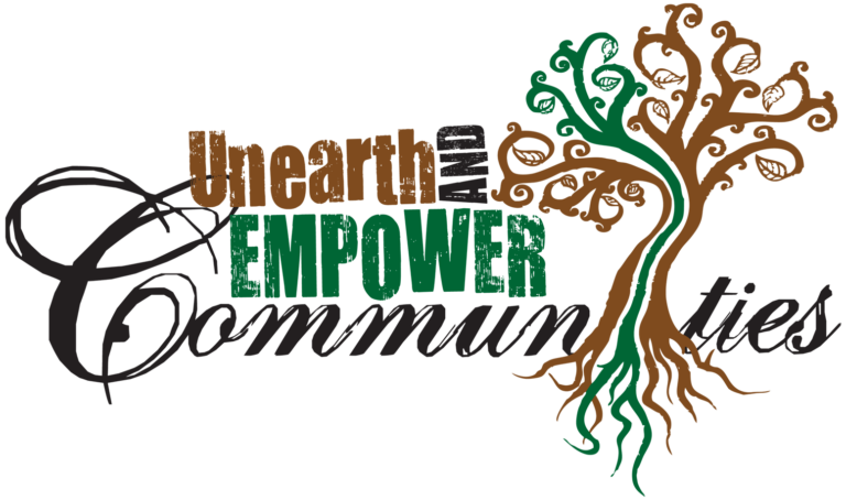 unearth and empower communities logo